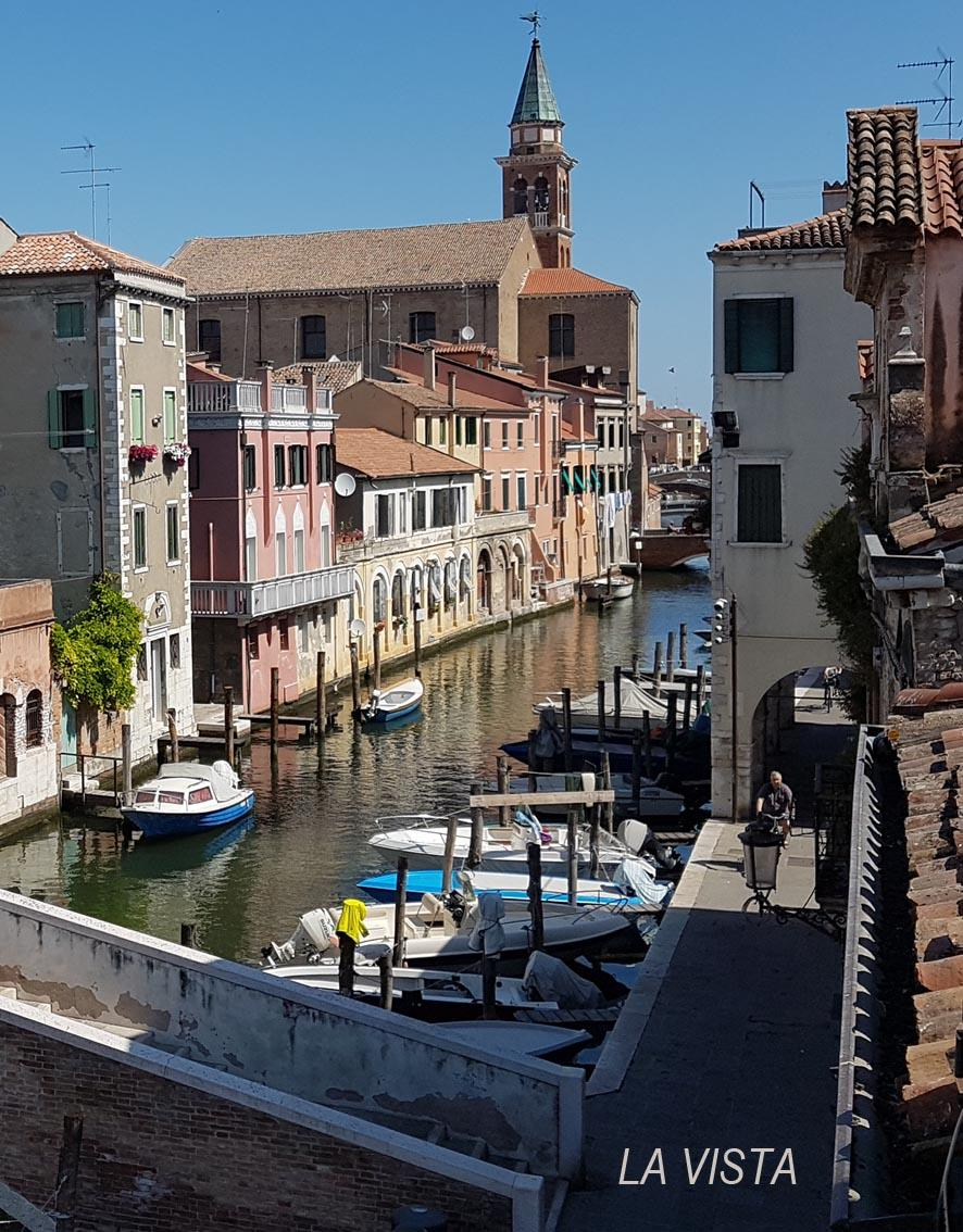PALAZZETTO IN CANAL  VENA