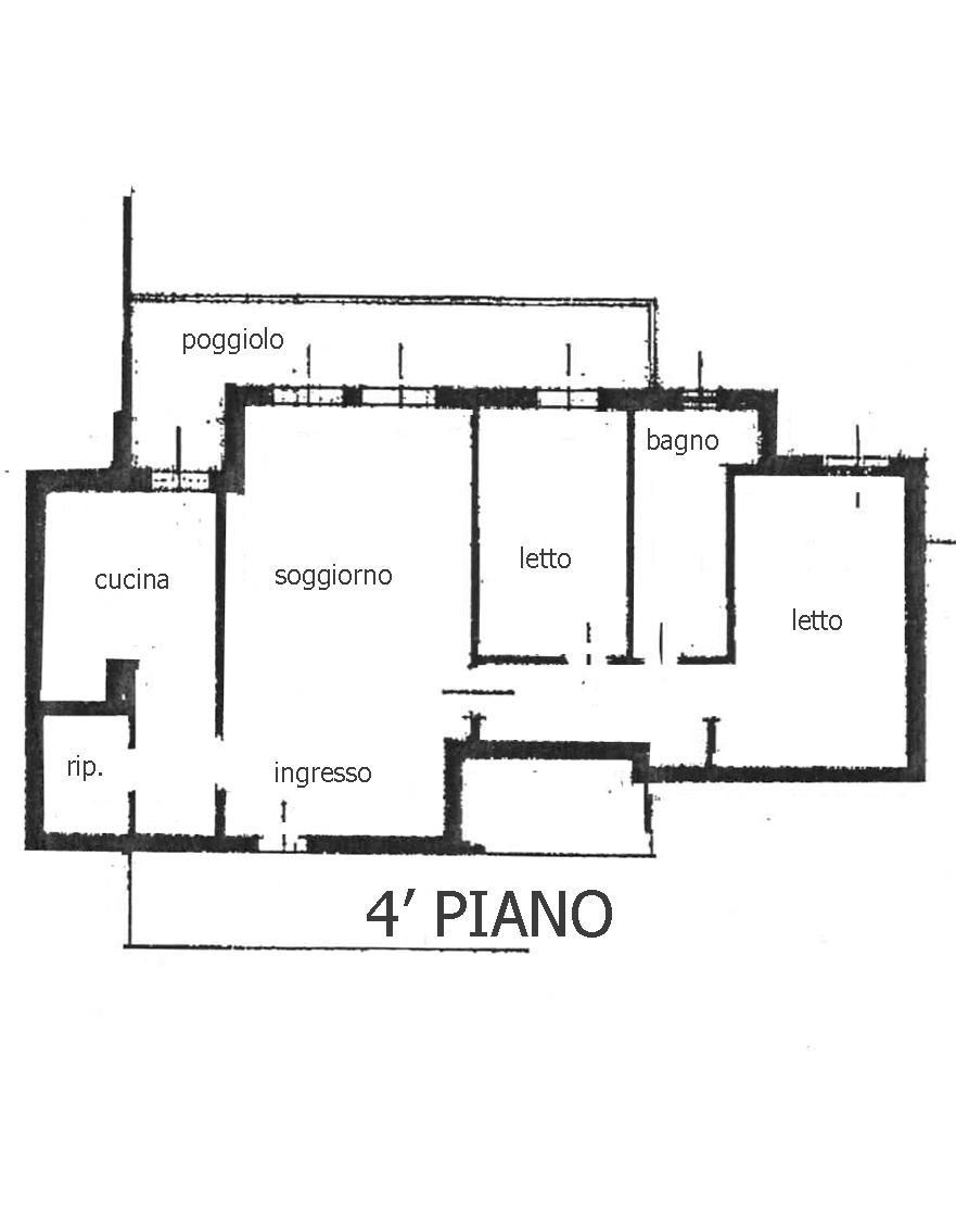 Sottomarina appartamento ultimo piano